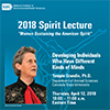 Lecture cover featuring Temple Grandin