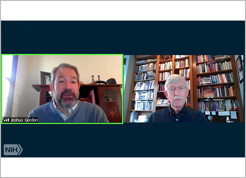 Dr. Francis Collins and Dr. Joshua Gordon