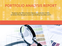 IACC ASD Research Portfolio Analysis Report cover for 2015