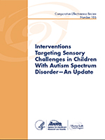 Interventions Targeting Sensory Challenges in Children with Autism Spectrum Disorder Cover
