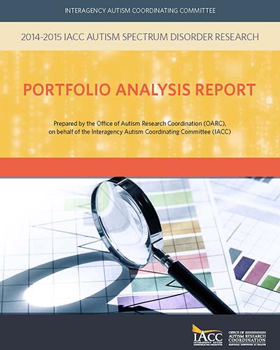 Autism Research Program Congressionally Directed Medical >> Autism Spectrum Disorder Research Portfolio Analysis Report 2014