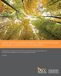 Publications Analysis Cover 2012