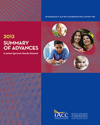 Summary of Advances Cover 2013