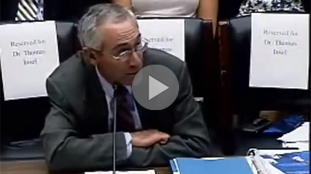 Tom Insel Testifying